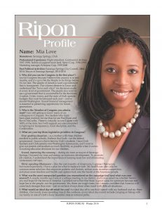 Ripon Profile - Mia Love