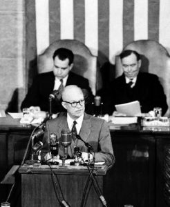 Ike before Joint Session - online only