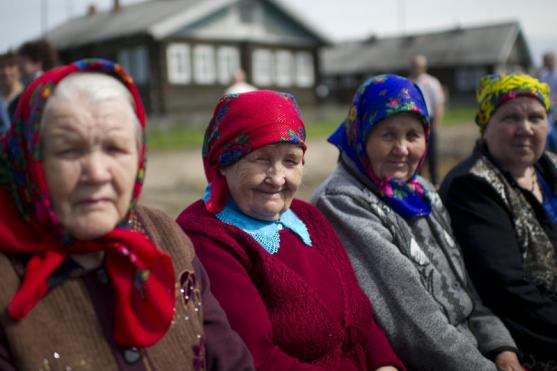 Russian pensioners