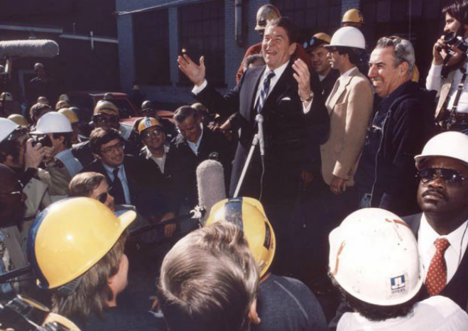 reagan in youngstown