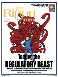 Ripon Forum - December 2015 cover