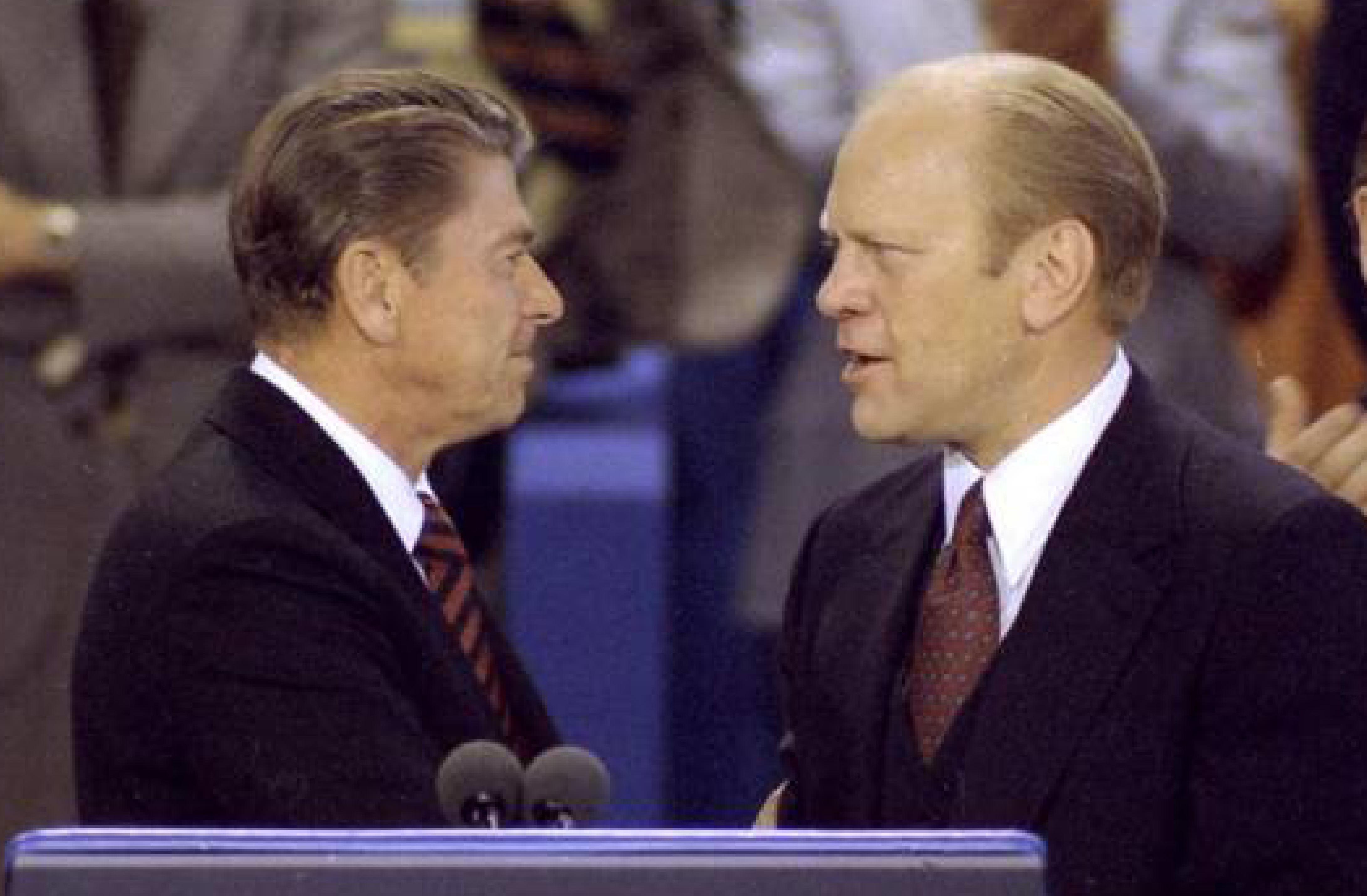 Reagan & Ford