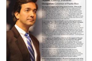 Ripon Profile of Luis G. Fortuño
