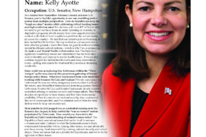 Ripon Profile of Kelly Ayotte