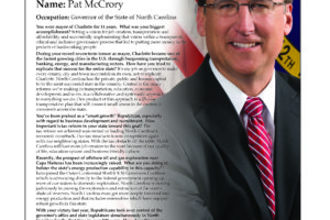Ripon Profile of Pat McCrory