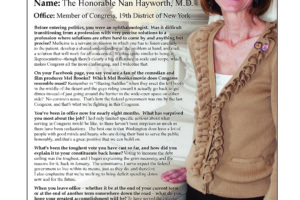 Ripon Profile of Nan Hayworth