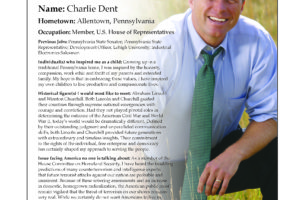 Ripon Profile of Charlie Dent