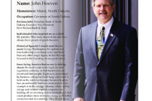 Ripon Profile of John Hoeven