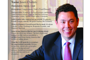 Ripon Profile of Jason Chaffetz