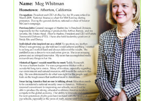 Ripon Profile of Meg Whitman