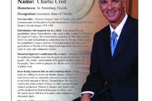 Ripon Profile of Charlie Crist
