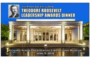 2018 Theodore Roosevelt Leadership Awards Presented to Cole, Denham, Dent, Walorski & Royce