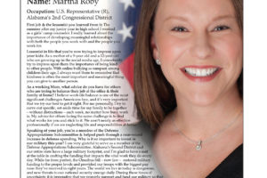 Ripon Profile of Martha Roby