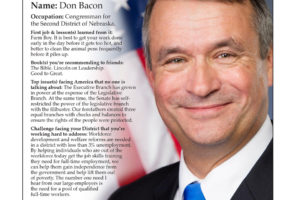 Ripon Profile of Don Bacon