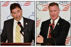 Stivers & Balderson Headline Ripon Society Breakfast Discussion
