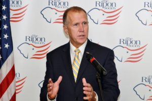 Tillis Backs Kavanaugh, Blasts Politics of Personal Destruction
