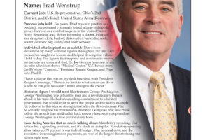 Ripon Profile of Brad Wenstrup