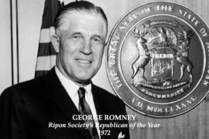 #TBT – The Ripon Society recognizes George Romney as its 1972 Republican of the Year